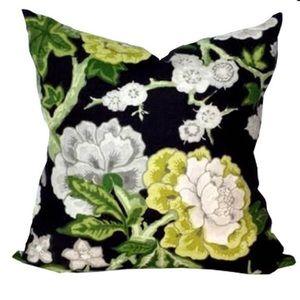 Pair of designer Schumacher 20x20 pillow covers